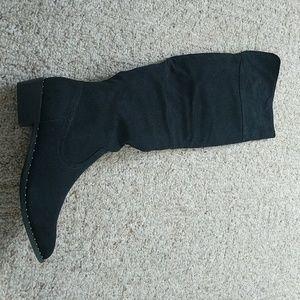 Knee length bootie